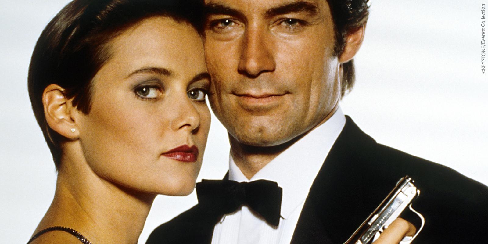 James Bond beschriftet